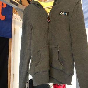 Volcom Stone reversible zip up sweater